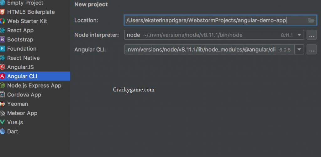 WebStorm Key